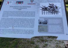 La Guida - Cuneo, danneggiata la targa al monumento alla Resistenza