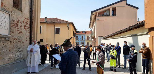 """La Guida - """"La libertà è come l'aria"""", cerimonia a Castelletto Stura"""