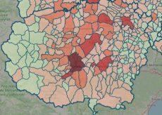 La Guida - La mappa del contagio: Granda allo 0,506% di casi attivi