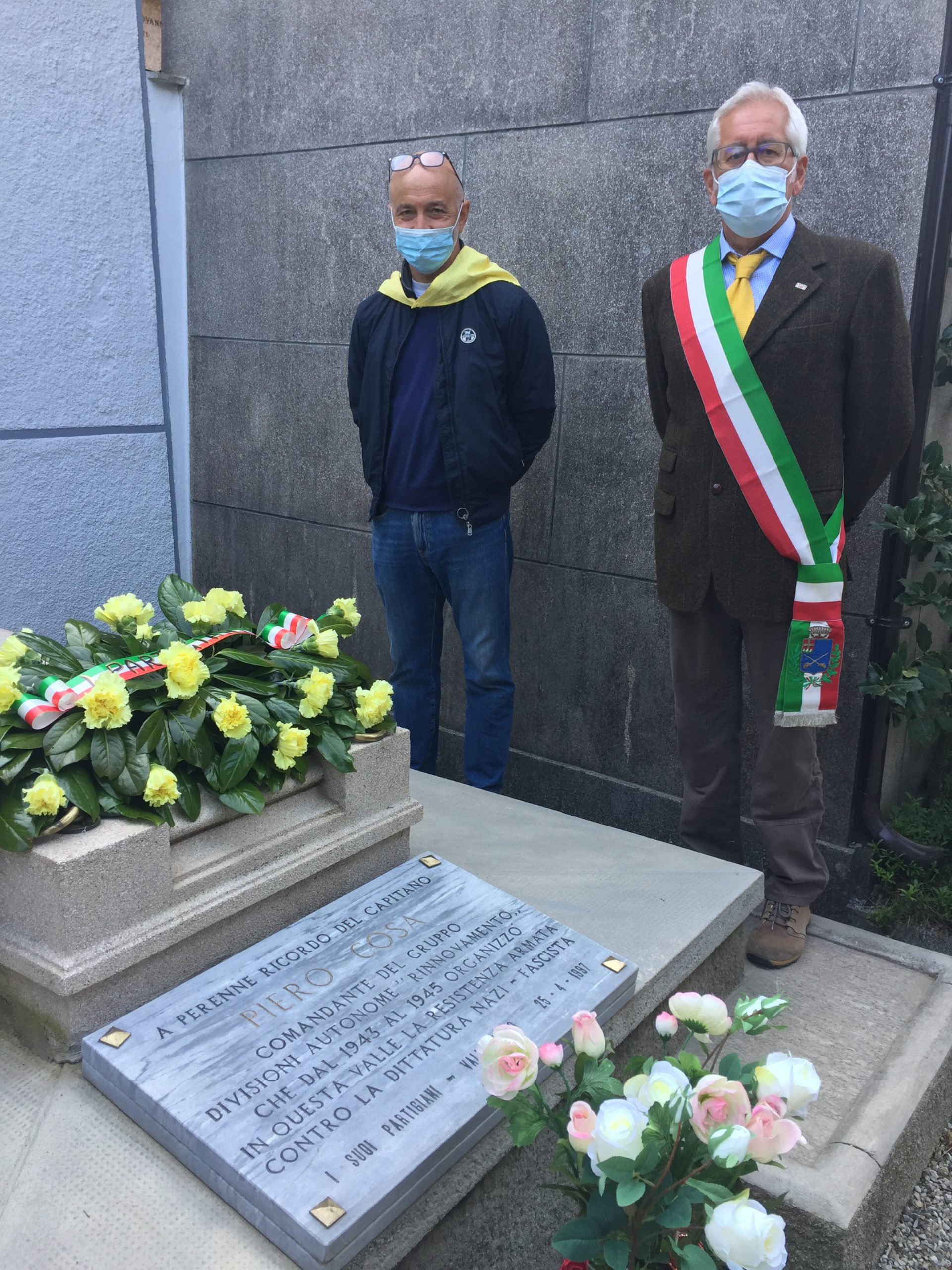 tomba del capitano Piero Cosa