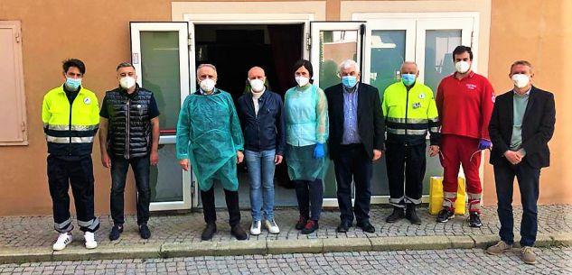 La Guida - 170 persone vaccinate a Venasca sabato 24 aprile