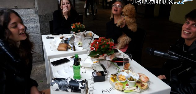 "La Guida - Nei bar cuneesi in ""zona gialla"" (video)"
