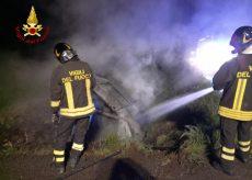 La Guida - Auto si incendia a Marene