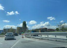 La Guida - Semafori a senso unico alternato lungo la Statale Valle Maira