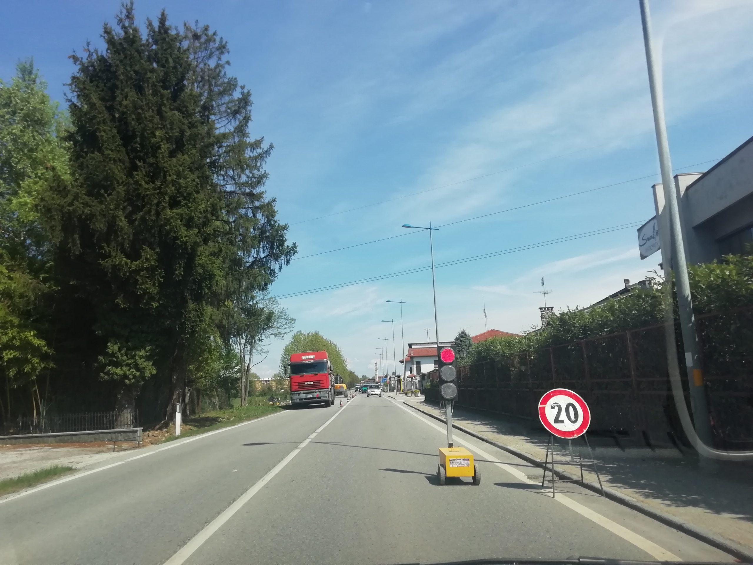 Confreria - Semaforo per lavori Isiline