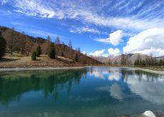La Guida - Ecco le prime foto del lago di Varisella di Sampeyre