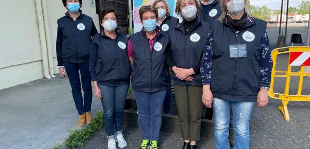 La Guida - Sei infermiere aiutano i medici per le vaccinazioni a Saluzzo