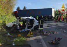 La Guida - Auto contro camion a Fossano