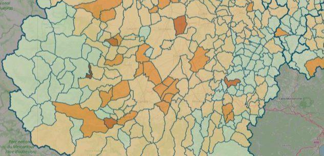 La Guida - La mappa del contagio: sono 85 i Comuni covid-free
