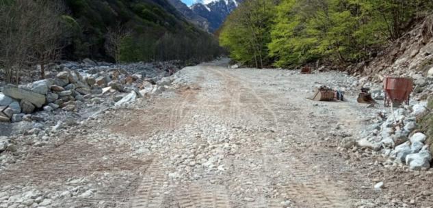 La Guida - Al lavoro per riaprire a fine maggio la strada per San Giacomo d'Entracque