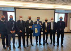 La Guida - In visita a Torino il presidente della Figc