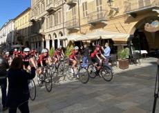 La Guida - Cuneo teatro per le immagini del Giro d'Italia femminile