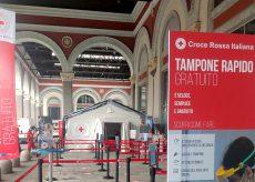 La Guida - Tamponi rapidi gratuiti alla stazione di Porta Nuova