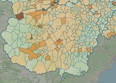 La Guida - La mappa del contagio: 106 i Comuni covid-free
