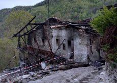 La Guida - Gli effetti devastanti dell'incendio nel vallone di Gilba a Brossasco