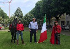 La Guida - A cavallo da Torino a Roma con il tricolore, omaggio anche a Cuneo