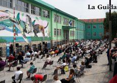 La Guida - Ecco il murale di Iena Cruz (video)