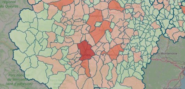 La Guida - La mappa del contagio: sono 137 su 247 i Comuni covid-free