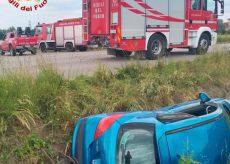 La Guida - Due feriti in un incidente stradale tra Rocca de' Baldi e Magliano Alpi