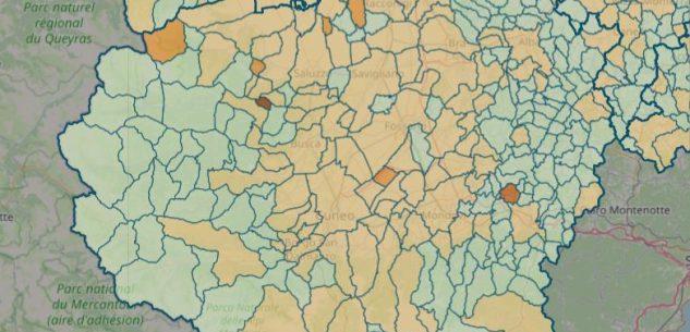 La Guida - La mappa del contagio: Comune di Cuneo sotto i 100 casi