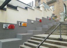 """La Guida - Borgo, inaugurazione della """"scala dei Diritti"""""""