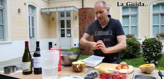 La Guida - Carpaccio di frutta sciroppata (video)