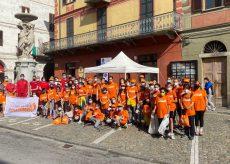 La Guida - Spazzamondo, un esercito arancione al lavoro in tutto il cuneese (fotogallery)