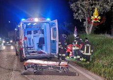 La Guida - Borgomale, motociclista ferito ricoverato in codice rosso