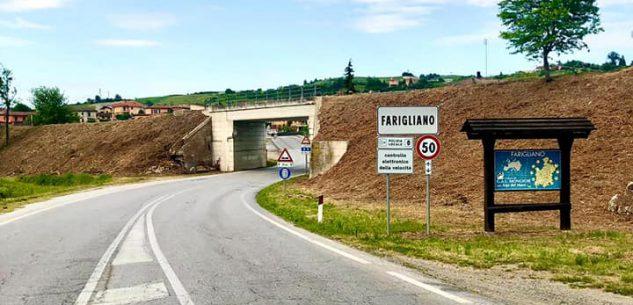 La Guida - Viabilità modificata sulla provinciale 9 dal cavalcavia di Farigliano