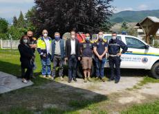 La Guida - Nuovo mezzo per la Protezione Civile di Borgo
