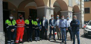 La Guida - Sopralluogo a Valdieri per l'assessore regionale Marco Gabusi