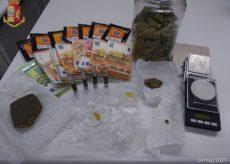 La Guida - Due giovani di Piasco deferiti per detenzione e spaccio di droga