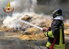 La Guida - Incendio in un fienile in frazione Gerbo a Fossano