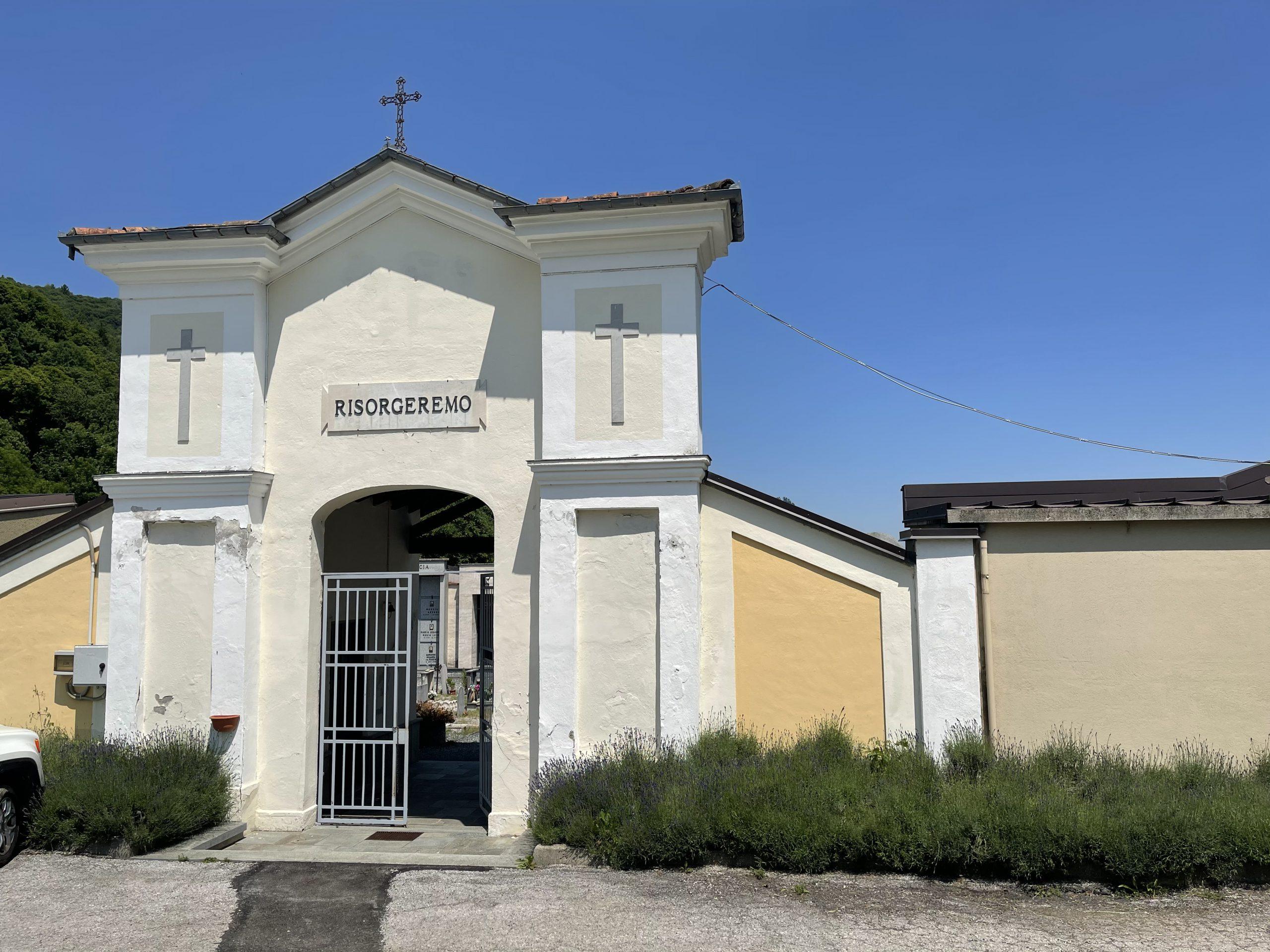 Cimitero di Monterosso Grana