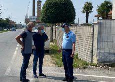 La Guida - Busca, sopralluogo con la Polizia locale a Bosco per la sicurezza