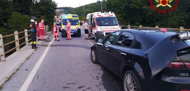 La Guida - Incidente a Bastia Mondovì, tre mezzi coinvolti