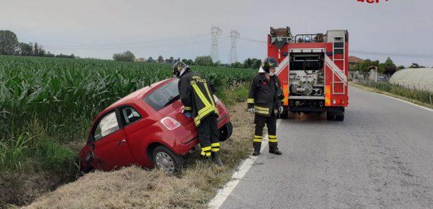 La Guida - Scontro tra auto a Morozzo, ragazza lievemente ferita