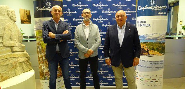 La Guida - Davide Sciandra presidente di Confartigianato Cuneo per la zona di Mondovì