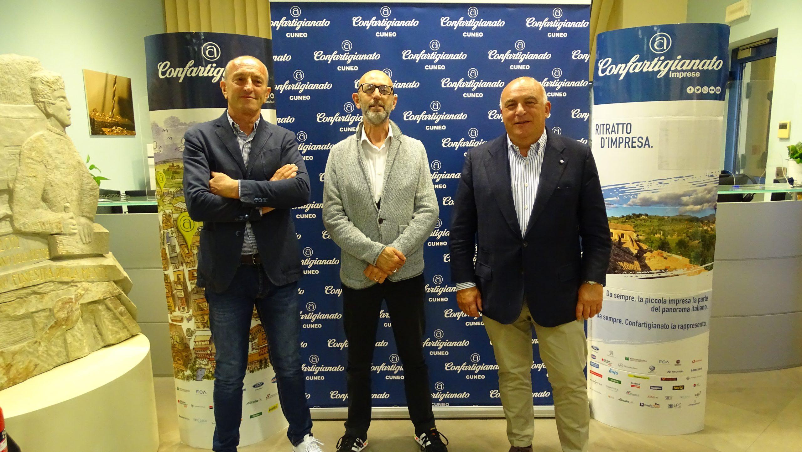 Silvio Turco (vicepresidente), Davide Sciandra (presidente di zona), Roberto Ganzinelli (vicepresidente vicario)