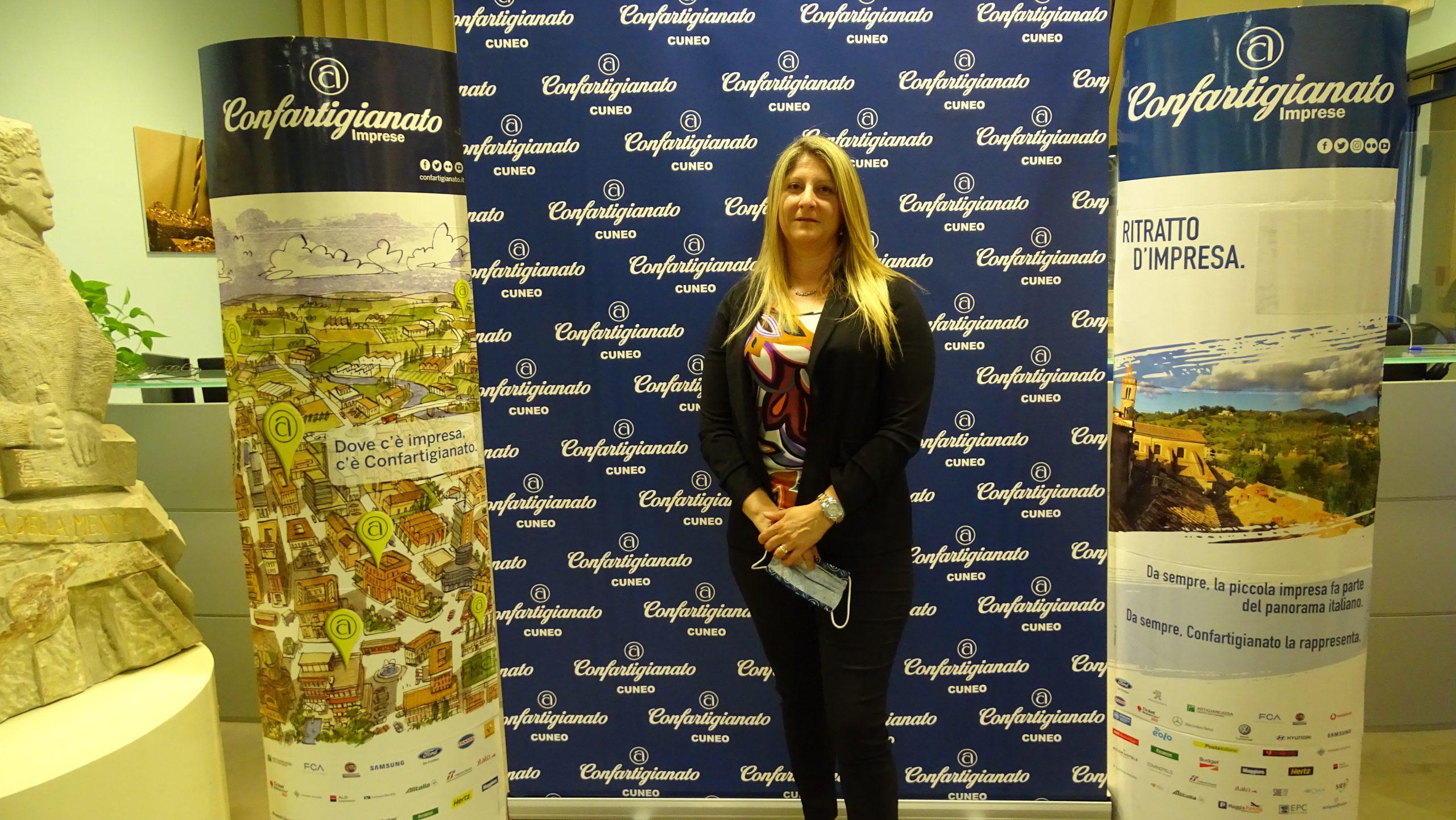 Roberta Ballocco, delegata Movimento Donne Impresa