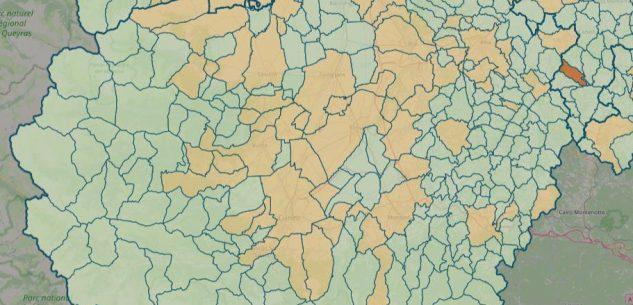 La Guida - La mappa del contagio: casi attivi in 61 Comuni su 247