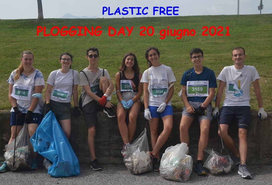 Giovani di Borgo San Giuseppe a Plastic Free
