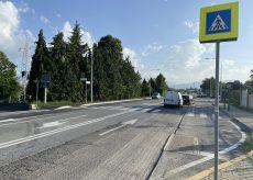 La Guida - Asfaltatura su via Valle Maira, nel primo tratto in uscita dal viadotto