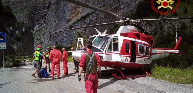 La Guida - Ciclista perde l'orientamento sulle montagne di San Giacomo di Roburent, recuperato