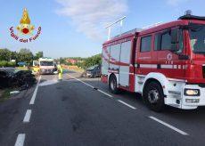 La Guida - Scontro frontale tra due auto, due feriti a Magliano Alfieri
