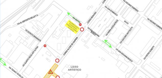 La Guida - Teleriscaldamento: viabilità modificata in corso De Gasperi
