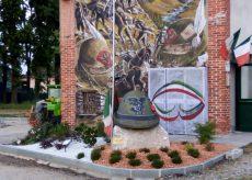 La Guida - Margarita, inaugurati l'aiuola e il murale dedicati agli Alpini