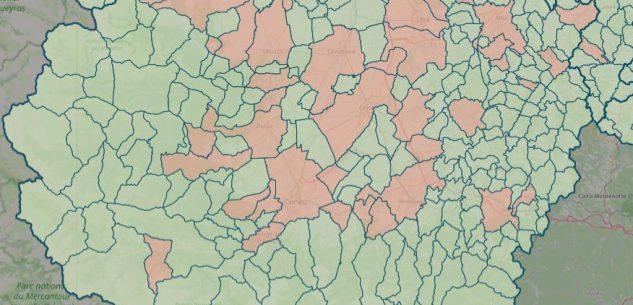 La Guida - La mappa del contagio: sono 44 su 247 i Comuni con casi attivi