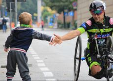 La Guida - Handbike: Diego Colombari a Tokyo per le Paralimpiadi