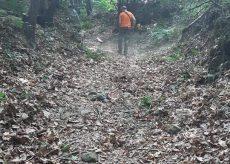 La Guida - Pulizia del sentiero che dai Gorai conduce alla chiesa di Rio Secco